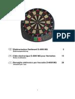 Elektronisches Dartboard D-4000 MQ
