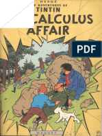 Tintin and the Calculus Affair