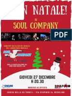 Locandina Soul Company Xmas 2018