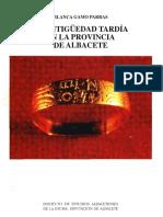 Antigüedad tardía en la provincia de Albacete