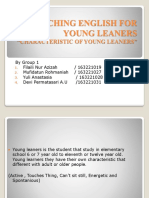 Characteristic of Young Leaners