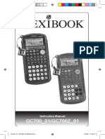 Manual de Usuario CASIO FX-6300G