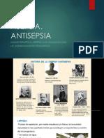 Clase 1 Asepsia, Flora Transitoria y Residente