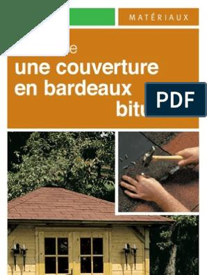 Pose Bardeaux Bitumé Matériaux De Construction Génie Du