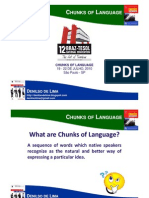 Chunks of Language Braz-tesol