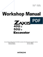 HITACHI ZAXIS 40U-2 EXCAVATOR Service Repair Manual.pdf