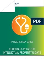 Agreeing a Price for IP Rights