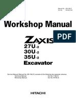 HITACHI ZAXIS 35U-2 EXCAVATOR Service Repair Manual.pdf