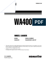 Komatsu WA400-5H Wheel Loader Service Repair Manual SN WA400H50051 and up.pdf
