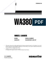 KOMATSU WA380-5H WHEEL LOADER Service Repair Manual SN:WA380H50051 and up.pdf