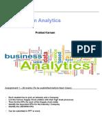 SCM Analytics Session 1 2 3 4