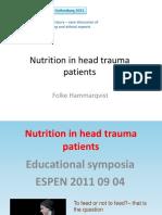 nutrisi pada trauma kepala