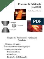 2.Processos de Fabricação