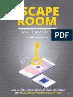 Escape Room Educativo Con Matematicas y Realidad Aumentada