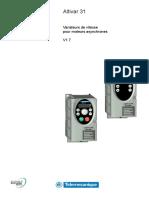TELEMECANIQUE Guide d'Exploitation ATV31