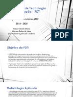 Plano Diretor de Tecnologia da Informação - PDTI - Hospital Universitário ABC 2018 - 2020 - IFSP