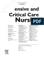 Editorial Board 2015 Intensive and Critical Care Nursing