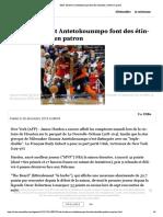 NBA- Harden et Antetokounmpo font des étincelles, Gobert en patron