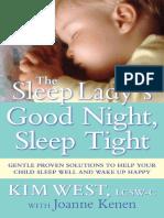 the sleep lady's good night,sleep tight