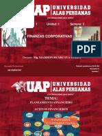 Semana 3. Planeacion Financiera y Activos Financieros-Derecho 2018-2m