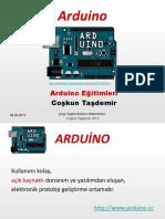 222903249 Arduino Eğitimleri 1 Giriş