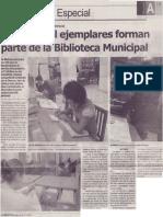 Unos 67 mil ejemplares forman parte de la Biblioteca Municipal