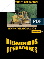 MOTONIVELADORA 140H, CAT.ppt