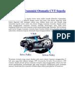 Cvt Spd Motor