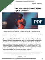 L'Humoriste Donel Jack'Sman Victime d'Une Insulte Raciste en Plein Spectacle