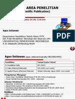 Area Penelitian PTK SPs_Agus_ Setiawan