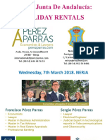 PEREZPARRAS Nerja Workshop Holiday Rentals March 7th 2018 Opt