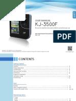 KJ-3500 Manual F_EN