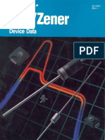 1998 Motorola TVS Zener Device Data