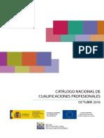 CATÁLOGO NACIONAL DE LAS CUALIFICACIONES PROFESIONALES