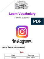 Learn Vocabulary- Set 64
