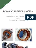 1Motor Design Parameter