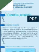 Universidad Nacional Del Altiplano-puno-control Robusto
