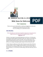 Bible Sense for Deliverance