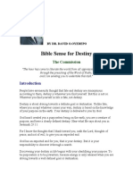 Bible Sense for Destiny