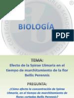 BIOLOGÍA - Exposicion Proyecto