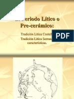 Clase N° 8 - Periodo Lítico Int.Arq