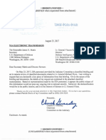 2017-08-25 CEG to DOD DIA (Unclassified Cover Letter to Classified Flynn Letter) (2)