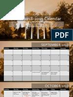 akpsi annual calendar