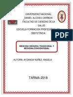 Medicina Indígena de Angela Aizanoa