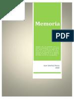 1. MEMORIA