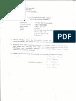 Pengantar Ilmu Pemerintahan (UAS) 2003
