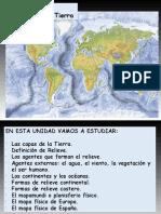 PPT. Unidad 2. El Relieve 2019 (1)