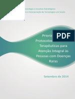 Priorização Protocolos e Diretrizes para Doenças Raras