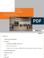 8.15.18 - Bush Terminal Studios Information Session