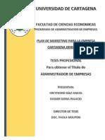 Plan de Marketing Para Cartagena Divers s.a.s. (2017)